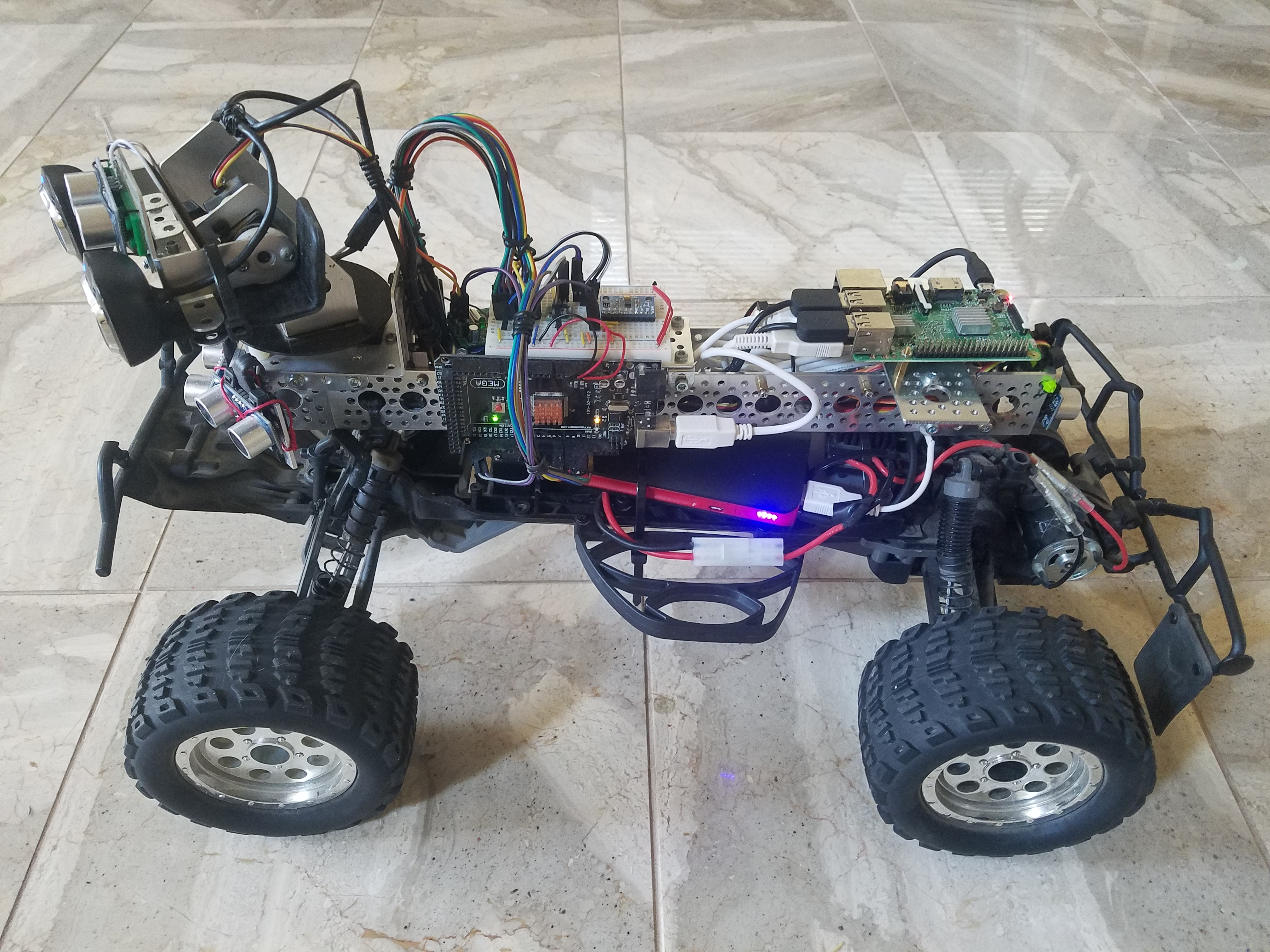 AR controlled rover powered by SWIM.