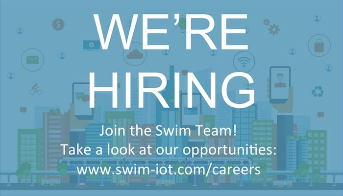 We're HIring! Job opportunities with Swim Inc.